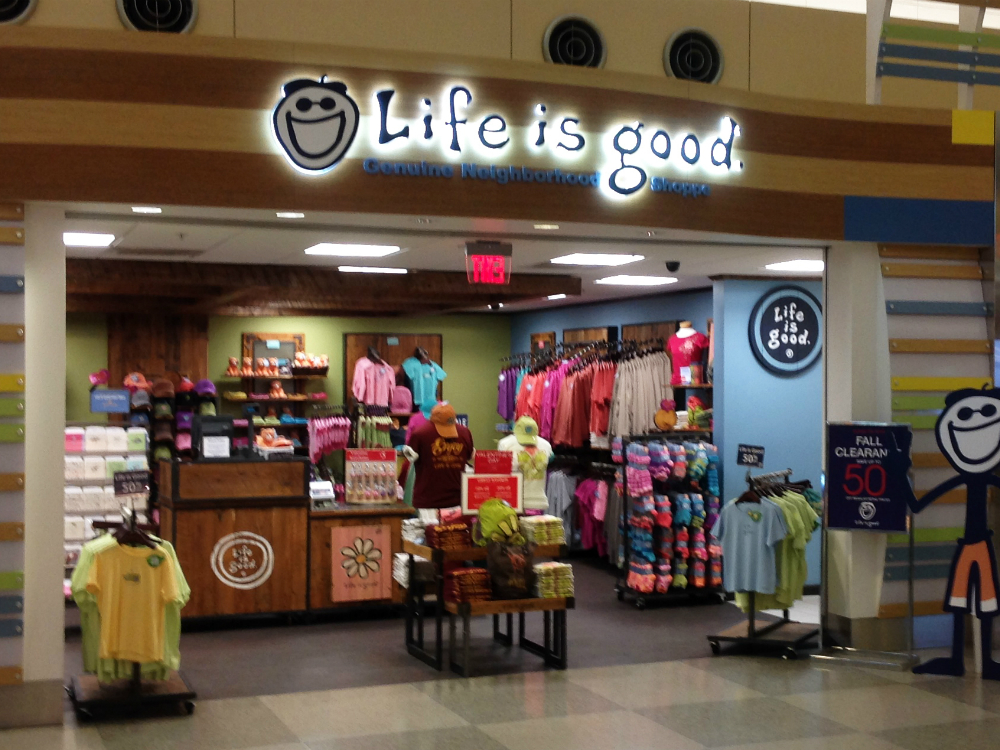 Life Is Good Retail Store Fixtures By Silver Star Industries