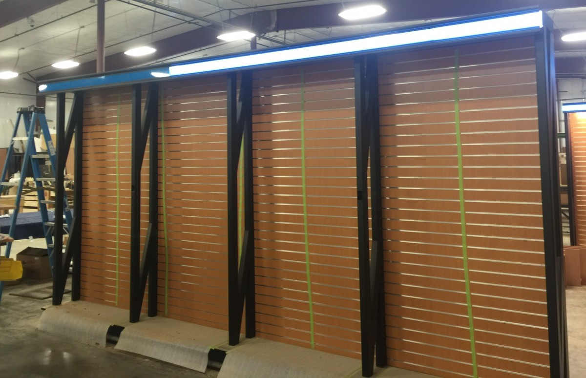Graphic Displays, Lighting, Retail Fixture Displays, Retail Store Interior, Illuminated Light Panels