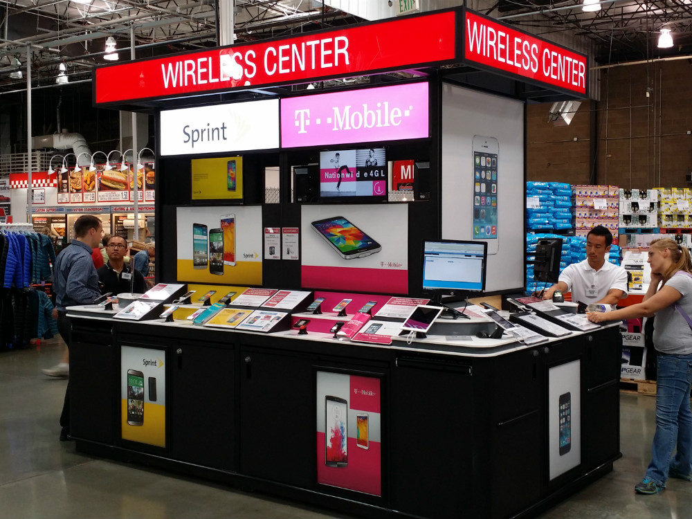 Costco Cell Phone Kiosk - 04