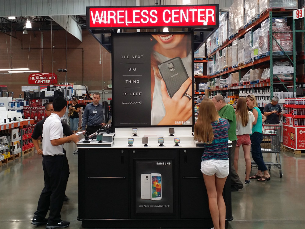 Costco Cell Phone Kiosk - 05