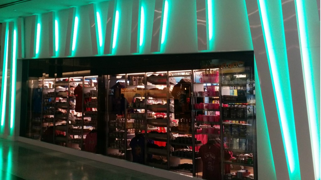 storefront at McCarran International Airport in Las Vegas. Silver Star ...