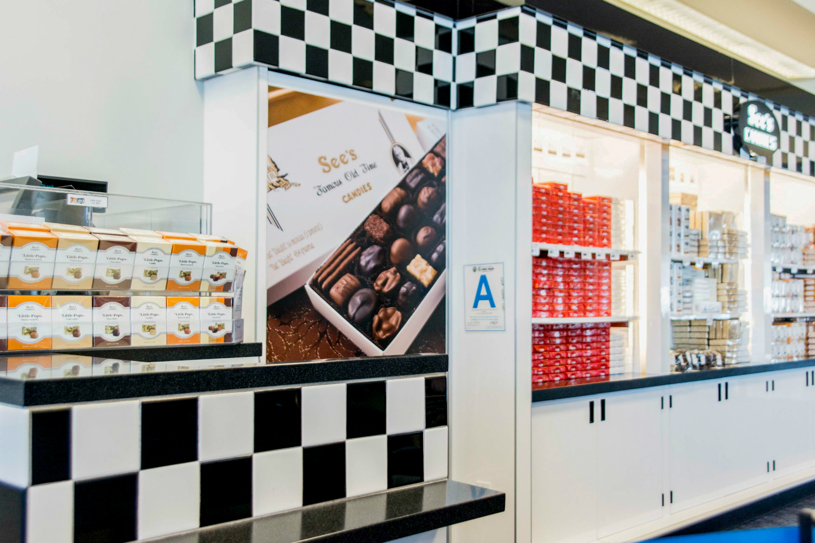 See's Candies Retail Display - LAX 01