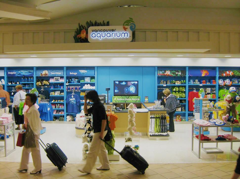 Vancouver Aquarium Airport Retail 01