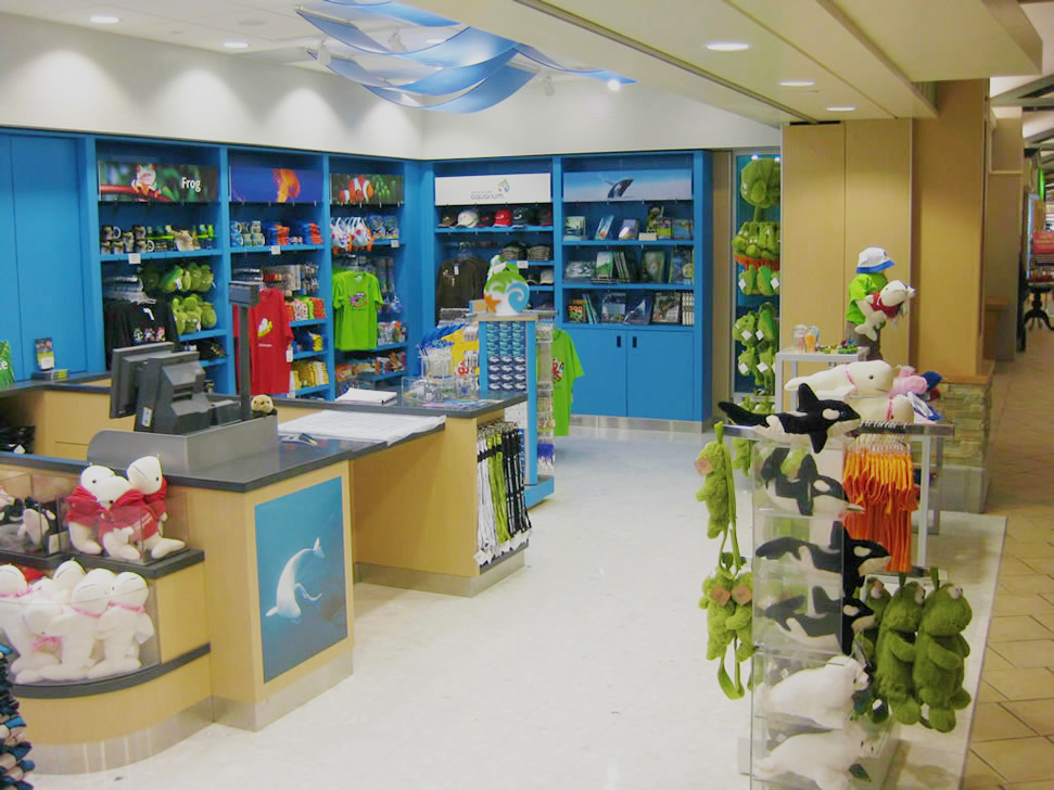Vancouver Aquarium Airport Retail 02