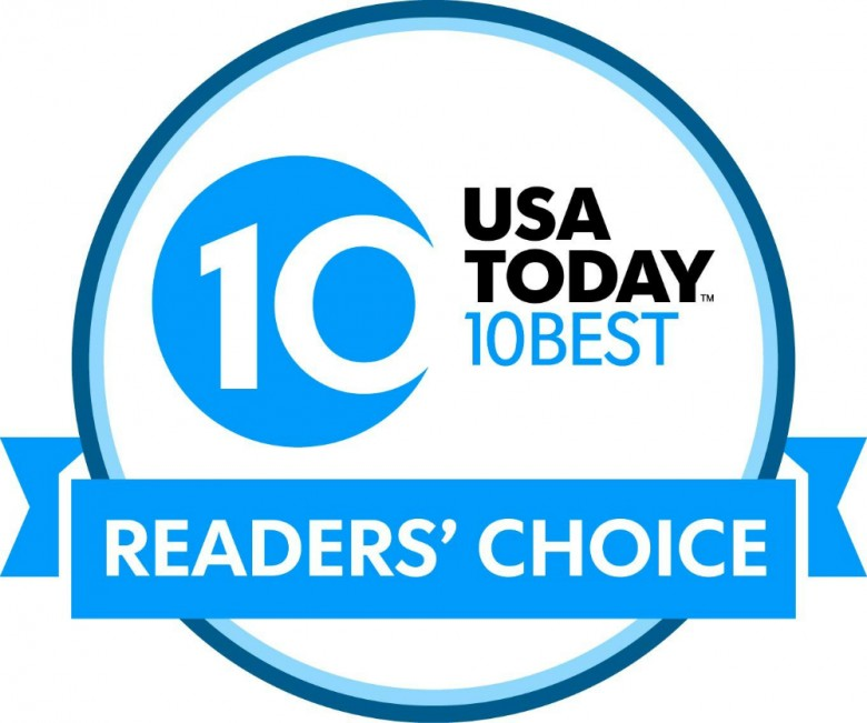 USA Today 10 Best - Hudson News Airport