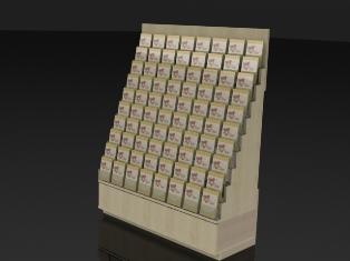 Greeting card displays silverstar industries ss2 high density greeting card display wall m4hsunfo