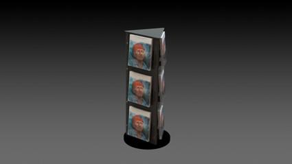Greeting card displays silverstar industries ss28 countertop greeting card display spinner m4hsunfo