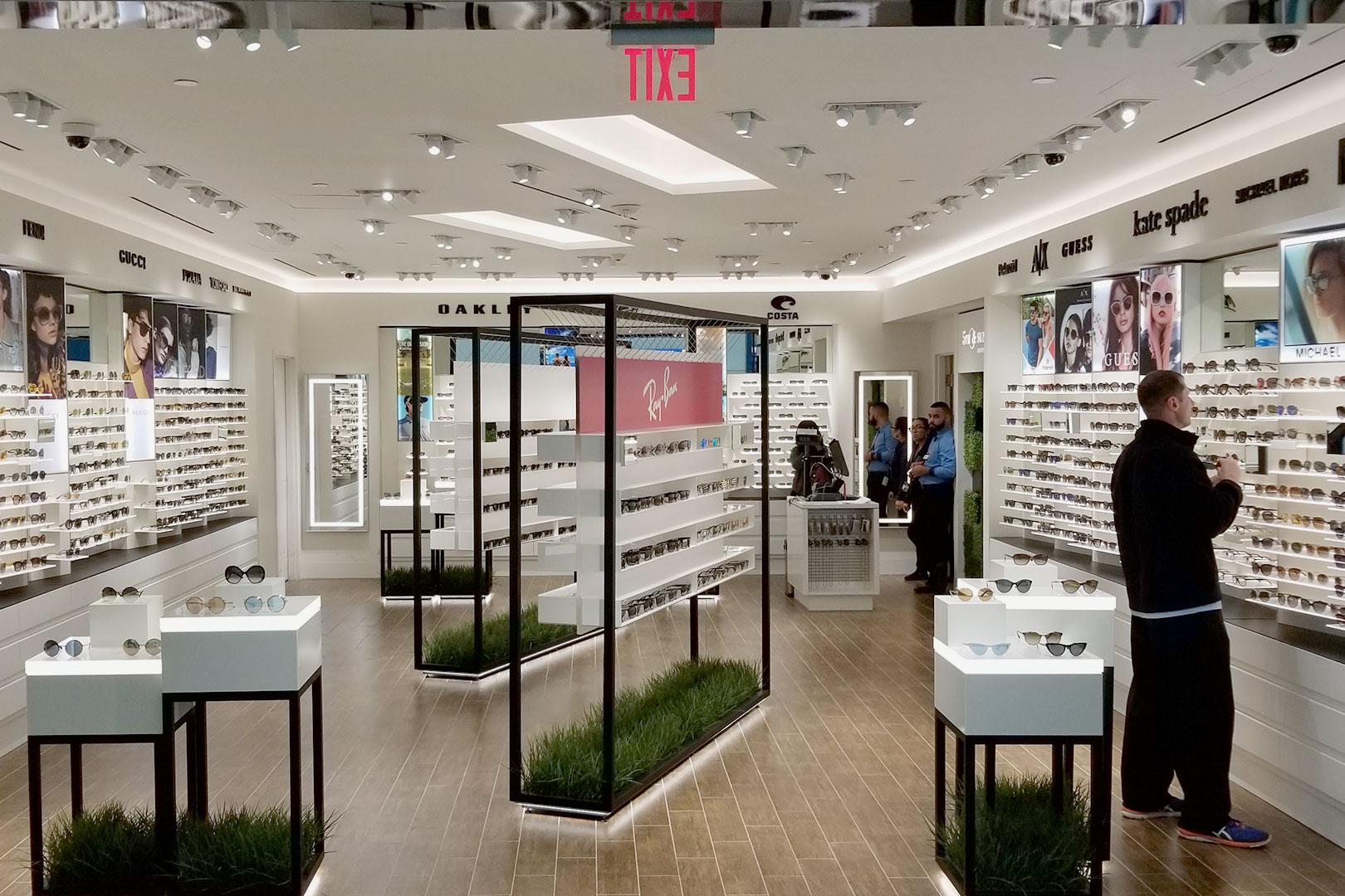 5th and Sunset Luxury Eyewear Wide Shot