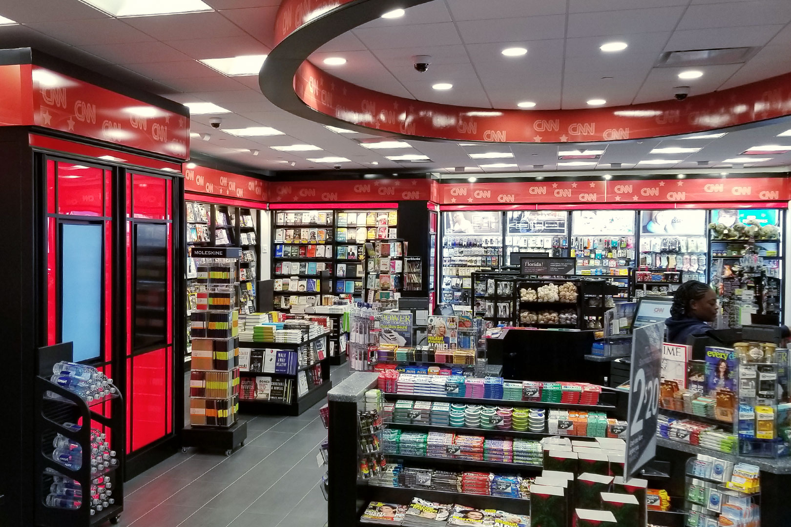 CNN Newsstand Retail Space