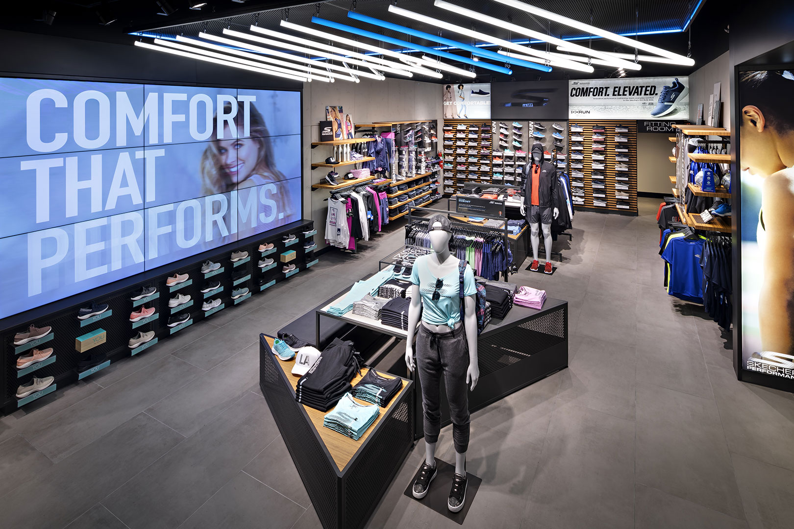 Skechers retail space