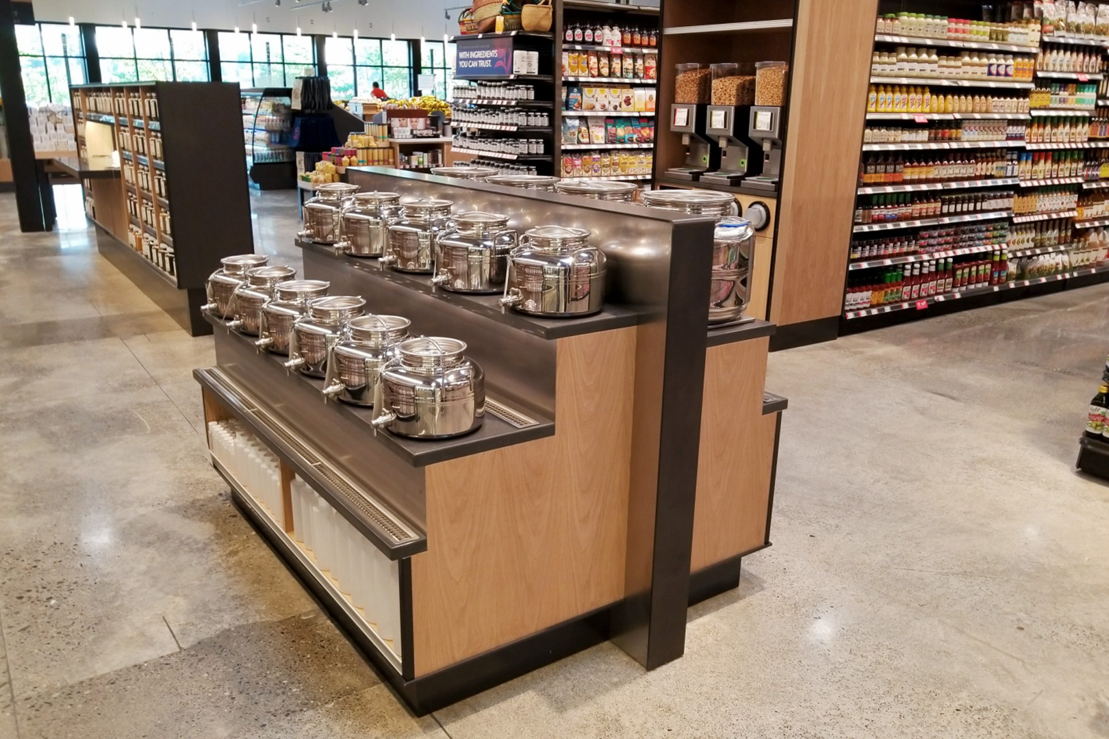 PCC Market free standing fixtures
